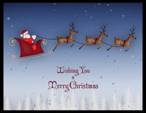 CXM 16a - santa sleigh