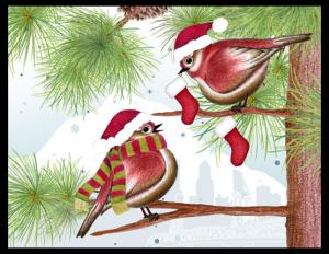 CXM 18b - robins and stockings portland