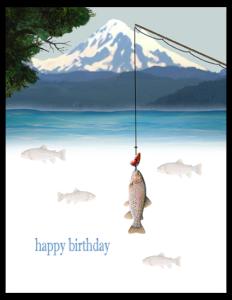 FL 27b - trout fishing pole