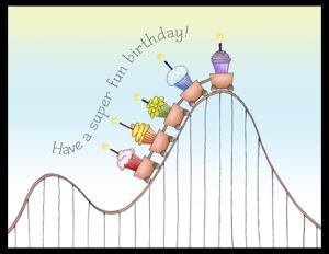 FL 41a - cupcake roller coaster