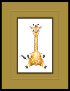 BB 08b - giraffe baby
