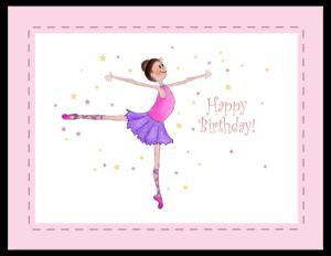 BB 23a - ballerina girl