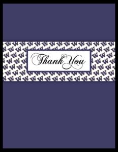 HK 13b - logo panel 'thanks'