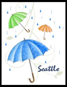 SP 06b - umbrella rain 'seattle'